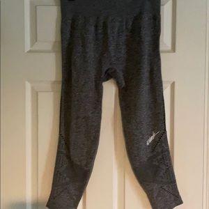 Pink grey leggings